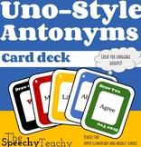 Uno Style Cards: Antonyms Level 1
