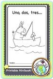 Uno dos tres... Counting Numbers Spanish Printable Minibook