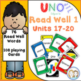Read Well 1 Uno Game Units 17-20