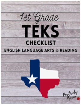1st Grade TEKS Checklist (6 Weeks Checks)