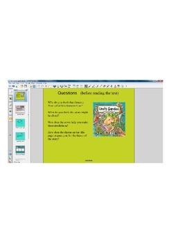 Uno's Garden Smart Notebook