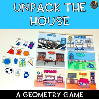 Unpack the House Geometry Game