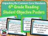 Unpacking Common Core Standards: 6th Grade Reading Student
