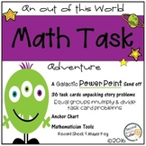 Multiplication & Division math stories.....A Galactic Adventure