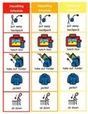 Unpacking Visuals & Visual Schedule