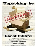 Unpacking the Constitution Study Guides Answer Key