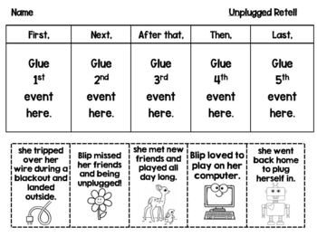Unplugged Book Activities for National Screen Free Week and MORE
