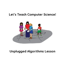 Unplugged Algorithms Coding Debugging Lesson VDOE Aligned Paired Programming
