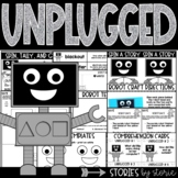 Unplugged (Book Questions, Vocabulary, & Robot Craft)