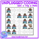 Unplugged Coding: Dog-Bone. Adapted & Leveled Tech for SpEd and Autism Units