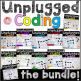 Unplugged Coding Bundle! 12 Activities for a whole year of