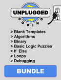 Unplugged Coding Bundle - Distance Learning