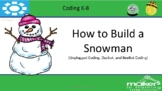 Unplugged Coding- Let's Build A Snowman (Beebots, Ozobots, Sphero)