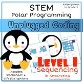 Unplugged Coding - Polar Programing STEM Level 1: Sequencing in Antarctica