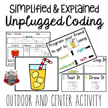Unplugged Coding: Program a Friend Summer Theme