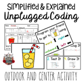 Unplugged Coding: Program a Friend Summer Theme