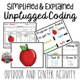 Unplugged Coding: Program a Friend School Theme