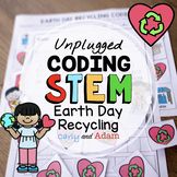 Unplugged Coding Recycling Earth Day STEM Activity