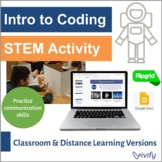 Unplugged Coding: Robot Tool STEM Activity