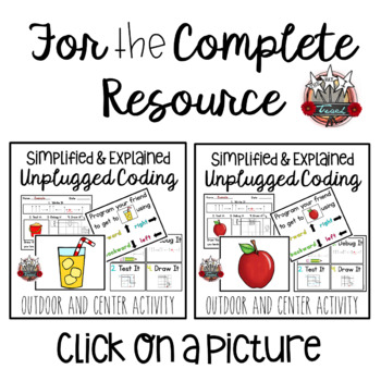 Unplugged Coding: School Theme Add On Pack