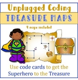 Unplugged Coding Treasure Maps | distance learning