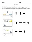 Unplugged Integrated Coding Programming Debugging Activity