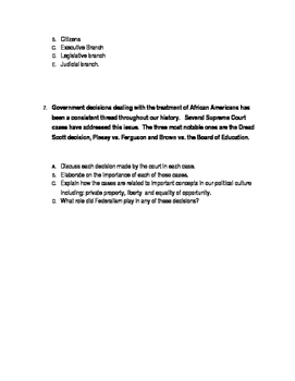 unpublished ap government and politics essay questions tpt unpublished ap government and politics essay questions