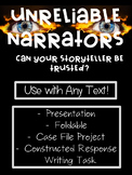 Unreliable Narrator Project For Any Text