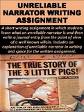 Unreliable Narrator Writing Assignment