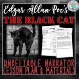 Unreliable Narrator of The Black Cat Lesson Plan