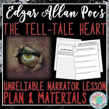 Unreliable Narrator of The Tell-Tale Heart Lesson Plan