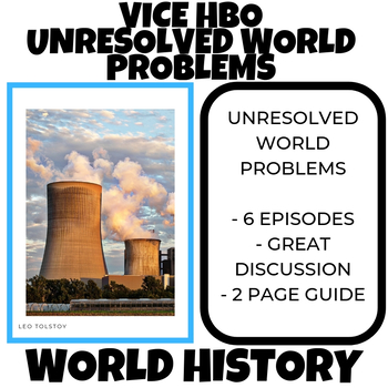 Unresolved World Problems VICE HBO