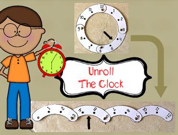 Unroll the Clock Template