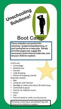 Unschool Solutions Boot Camp