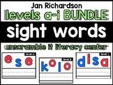 Unscramble It: Literacy Centers (Jan Richardson Bundle, Le