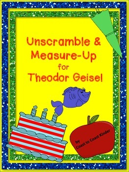Theodor Geisel- Unscrambled & Measure Up