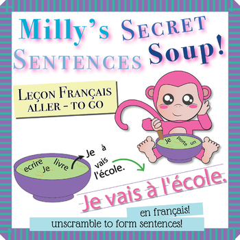 """Unscramble Milly's Sentence Soup to Form Sentences with """"Aller"""" in French!"""