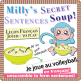 "Unscramble Milly's Sentence Soup to Form Sentences with ""J"
