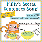 "Unscramble Milly's Sentence Soup to Form Sentences with ""M"