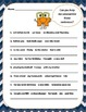 Unscramble the Sentence ( Scrambled Sentences )  3 page of 8 questions each page