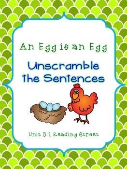 Unscramble the Sentences 3.1 An Egg is an Egg