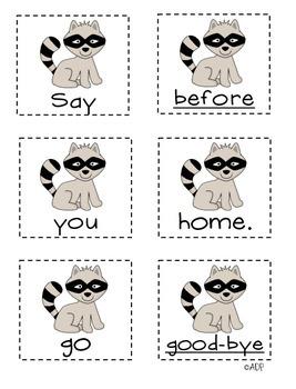 Unscramble the Sentences 3.6 Where Are My Animal Friends?