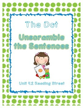 Unscramble the Sentences 4.2 The Dot