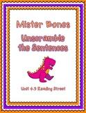 Unscramble the Sentences 4.3 Mister Bones