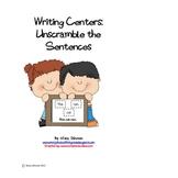 Unscramble the Sentences - Long and Short Vowels