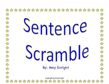 Unscramble the sentence