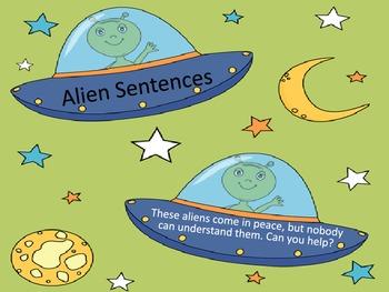 Unscrambling Alien Sentences