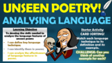 Unseen Poetry - Analysing Language!