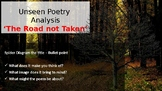 Unseen Poetry - 'The Road Not Taken' by Robert Frost