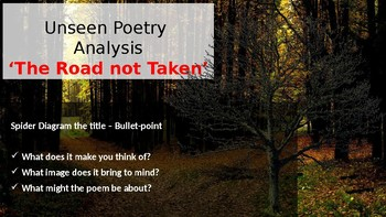 Unseen Poetry - 'The Road Not Taken' by Robert Frost